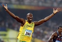 100m 세계 기록 보유자 우사 인 볼트